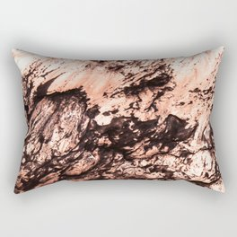Copper Lava Rectangular Pillow