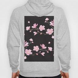 Cherry Blossom - Black Hoody