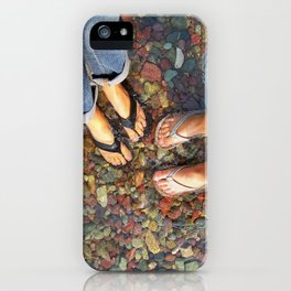 Getting Our Feet Wet iPhone Case