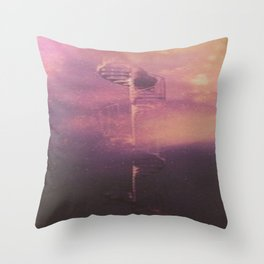 Doctor Who Castle in the Clouds Throw Pillow