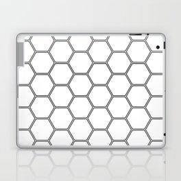 Honeycomb Black #378 Laptop & iPad Skin