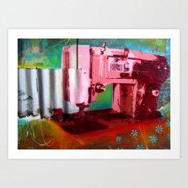 Sewing Machine Art Print
