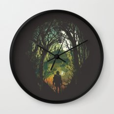 It's Dangerous to go Alone V.2 Wall Clock