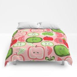 Retro Apples Comforters