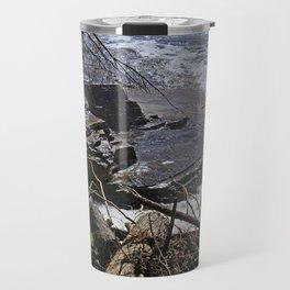 The Edge of Courage Travel Mug