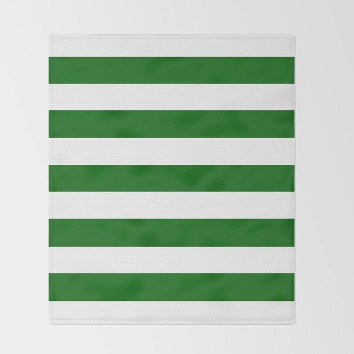 White Stripes Pattern Throw Blanket