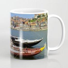 Port wine barges on the Douro Coffee Mug