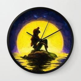 Little Mermaid Wall Clock