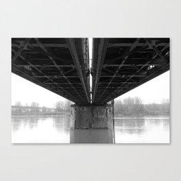 Rail / Ways Canvas Print