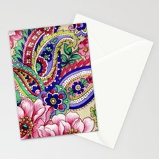 Floral Deco Stationery Cards
