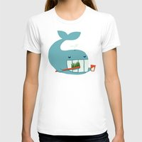 teeth T-shirts featuring Brush Your Teeth by Picomodi