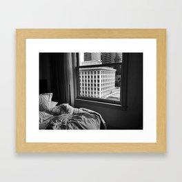 Seattle Morning Framed Art Print