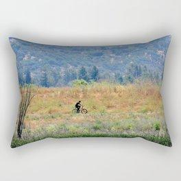 bike in beauty Rectangular Pillow