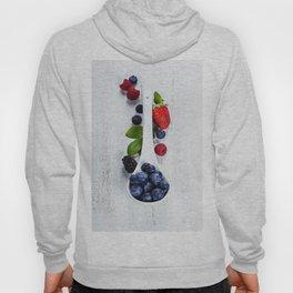 Berries with spoon Hoody