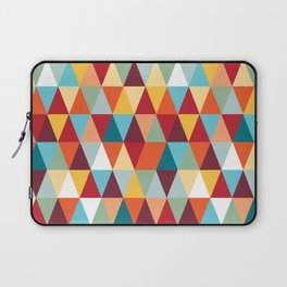 Geometric Color #abstract #bright #triangles Laptop Sleeve