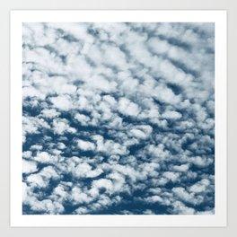 Cotton Candy Clouds Breathtaking Big Sky Photo Art Print