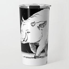 Edge of the universe: Warthog Travel Mug