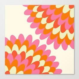 Dahlia at 60's Canvas Print