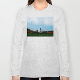 Garden and Lighthouse at the bottle houses Long Sleeve T-shirt