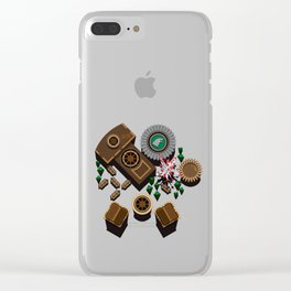 Winterfel Castle Clear iPhone Case