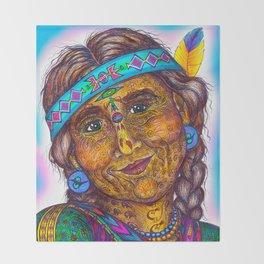 Wisdom Keeper Color #27 (Altruism) Throw Blanket