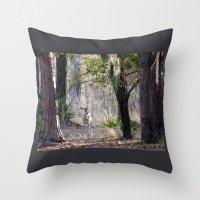 fairytale Throw Pillows featuring Fairytale by Sara Evans