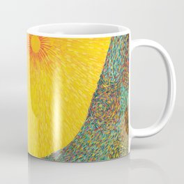 Here Comes the Sun - Van Gogh impressionist abstract Coffee Mug