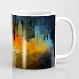 Atlanta City Skyline UHq v4 Coffee Mug