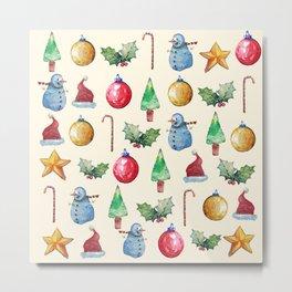 Christmas!! Pattern! (Holidays) Metal Print