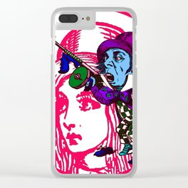 Alice&Hatter Clear iPhone Case