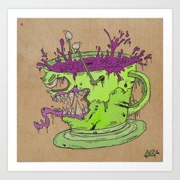 Evil Coffee Art Print
