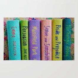 Jane Austen Library Rug
