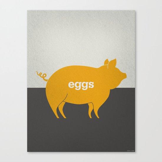 Eggs/Bacon Canvas Print