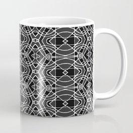 Black and White Tribal Print Coffee Mug