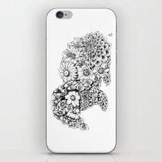 Floral Rabbit iPhone & iPod Skin