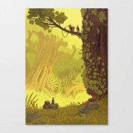 The Cassandra Star - Cut the tree Canvas Print