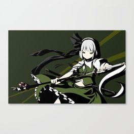 Anime Touhou Canvas Print