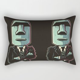 Poker Face 2 Rectangular Pillow