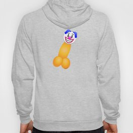 Emoji Dick Clown Hoody