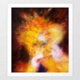 Madonna di Giale Art Print