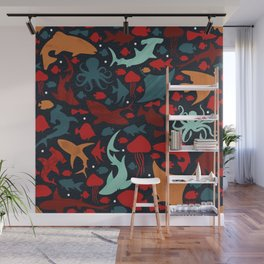 Fish in the Red Sea Wall Mural