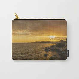 Sunset in Lloret de Mar Carry-All Pouch