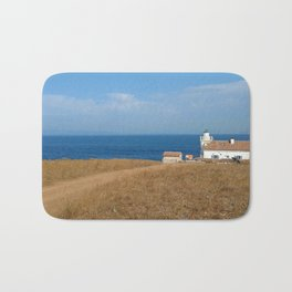 beach front lighthouse medulin croatia Istria Bath Mat