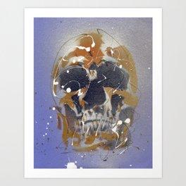Skull #7 Art Print
