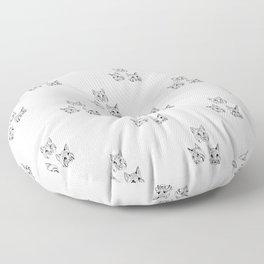 Irish Bobcat Trio Floor Pillow
