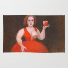 Apples. Rug