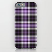 Purple Plaid iPhone 6 Slim Case