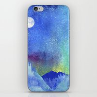 northern lights iPhone & iPod Skins featuring Northern Lights by Ricardo Moody
