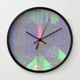 Pink Slip Wall Clock
