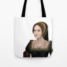 Anne Boleyn painting - on transparent background Tote Bag